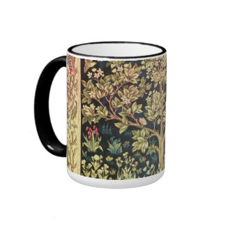 Arbre de William Morris d'art vintage floral de la Mug Ringer