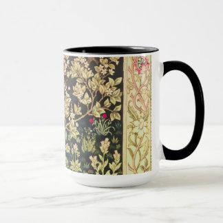 Arbre de William Morris d'art vintage floral de la Tasses
