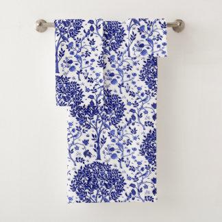 Arbre de William Morris de la vie, de bleu de
