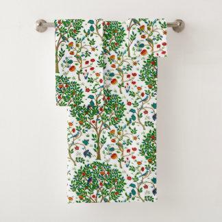Arbre de William Morris de la vie, vert et multi