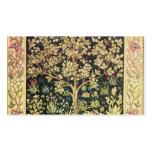 Arbre de William Morris de Pre-Raphaelite de cru Carte De Visite Standard