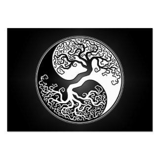 Arbre de Yin Yang Cartes De Visite Professionnelles