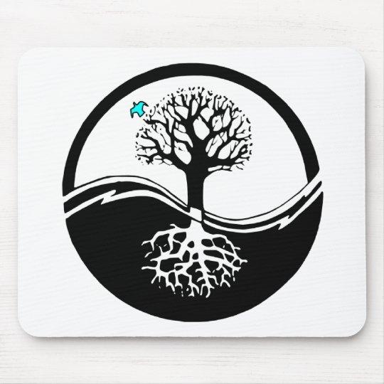 Arbre de yin yang tapis de souris zazzle for Table a vi 6 2 of the stcw code