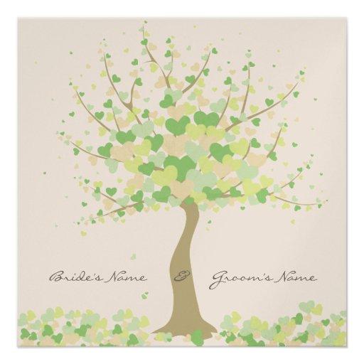 arbre des coeurs faire part de mariage de carton d. Black Bedroom Furniture Sets. Home Design Ideas