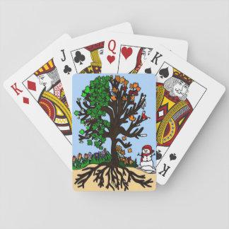 Arbre des saisons jeu de cartes