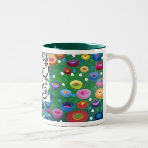 Arbre d'hommage de Klimt de la vie Tasse À Café