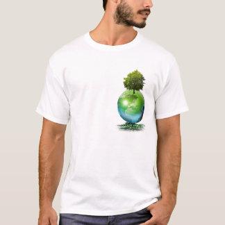 Arbre du monde - concept d'écologie t-shirt