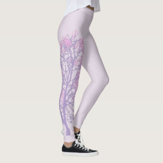 Arbre en pastel leggings