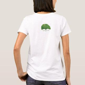 Arbre Hugger, amant de feuille - Ginkgo T-shirt