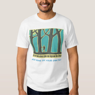 Arbre Hugger, augmentant T-shirt