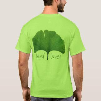 Arbre Hugger, feuille Eco de Ginkgo d'amant de T-shirt