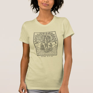 Arbre médiéval des sciences t-shirt