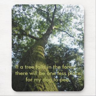 arbre Mousse-couvert Mousepad Tapis De Souris