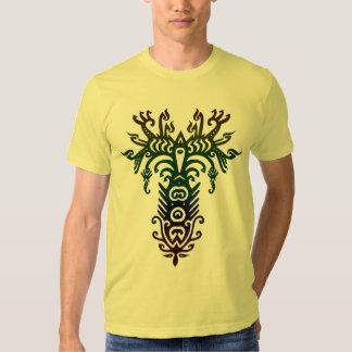 arbre psychédélique t-shirt