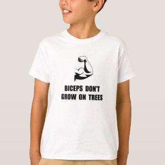 Arbres de biceps t-shirt