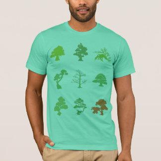 Arbres de bonsaïs t-shirt