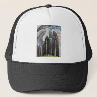 Arbres de montagne casquettes de camionneur