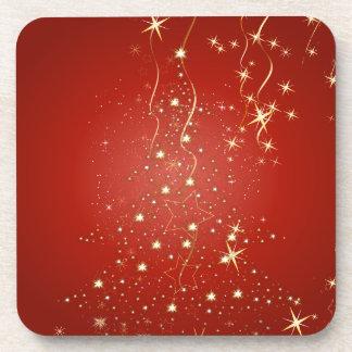 Arbres de Noël de scintillement de PixDezines Sous-bocks