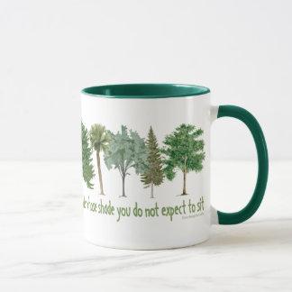 Arbres de plante tasses