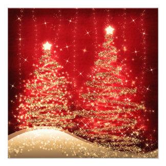 Arbres de scintillement de fête de Noël élégante r