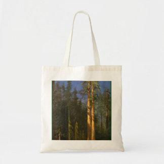 Arbres de séquoia par Albert Bierstadt Sac Fourre-tout