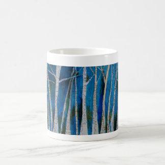 Arbres d'hiver de danse mug
