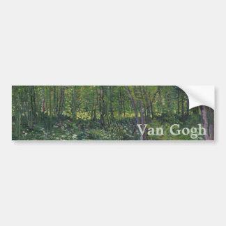 Arbres et broussaille par Vincent van Gogh Adhésifs Pour Voiture