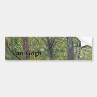 Arbres par Vincent van Gogh Autocollant De Voiture