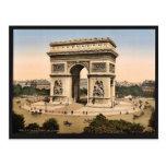 Arc de Triomphe, De l'Etoile, classi de Paris, Fra Cartes Postales