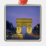 Arc de Triomphe, Paris, France, Ornement Carré Argenté