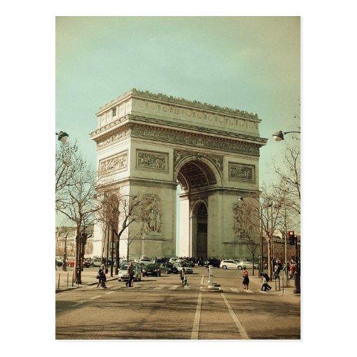 Arc de Trionphe (Paris-France) Cartes Postales