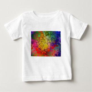 Arc-en-ciel #2 abstrait t-shirt pour bébé