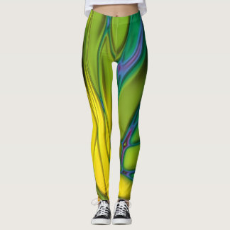 Arc-en-ciel abstrait #2 leggings