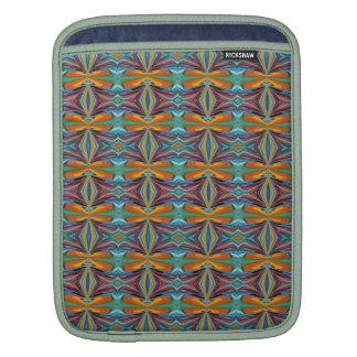 Arc-en-ciel abstrait artistique de conception de poches pour iPad