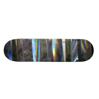 Arc-en-ciel allumé plateaux de skateboards customisés