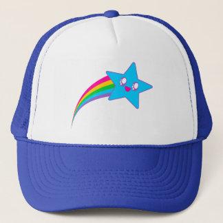 Arc-en-ciel au néon d'étoile d'éloge de Kawaii Casquette