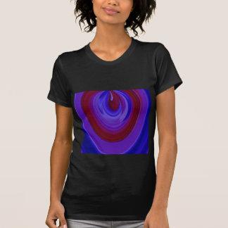 ARC-EN-CIEL audacieux - rouge du bleu royal n T-shirts