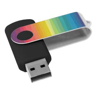 Arc-en-ciel Clé USB 2.0 Swivel