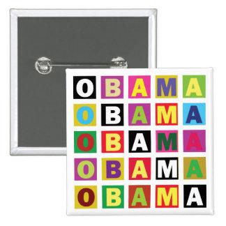 Arc-en-ciel d Obama Badge