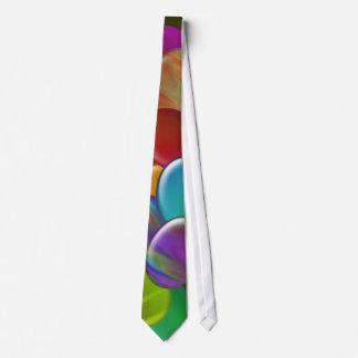 Arc-en-ciel de Dix oeufs de pâques Cravates