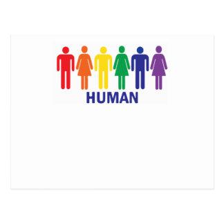 ARC-EN-CIEL DE DROITS DES HOMOSEXUELS D'ÉGALITÉ CARTE POSTALE