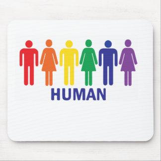 ARC-EN-CIEL DE DROITS DES HOMOSEXUELS D'ÉGALITÉ TAPIS DE SOURIS