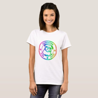 Arc-en-ciel de la pièce en t des femmes t-shirt