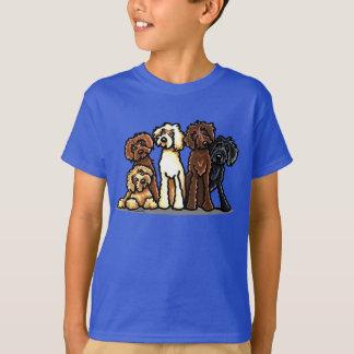 Arc-en-ciel de Labradoodle T-shirt