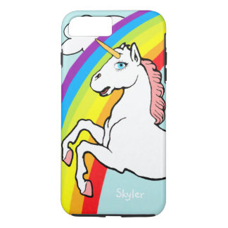 Arc-en-ciel de licorne coque iPhone 8 plus/7 plus