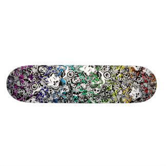Arc-en-ciel de planche à roulettes de créatures skateboards cutomisables