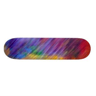 Arc-en-ciel de plate-forme de planche à roulettes skateboard