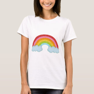 Arc-en-ciel de tissu t-shirt