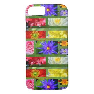 Arc-en-ciel des fleurs coque iPhone 7