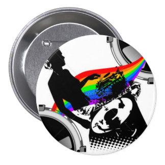 arc-en-ciel DJ Pin's Avec Agrafe
